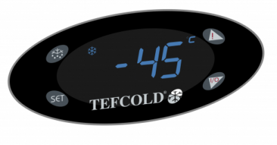 Display Tefcold SE40-45-P laboratorium vrieskist