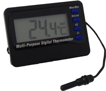 Multi-Purpose digitale thermometer met externe sensor