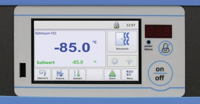 Touchscreen display Fryka B 35-85//logg countertop -80°C vrieskast