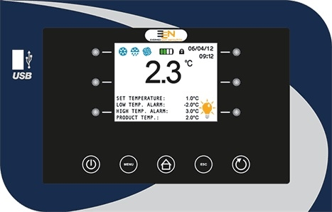 Evermed xPRO control panel