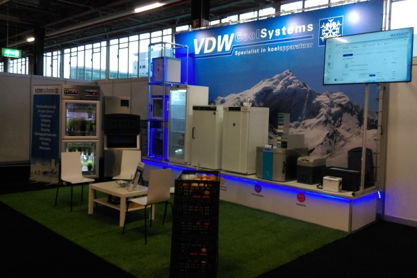 Stand Labtechnology 2019 VDW CoolSystems B.V.